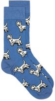 Topman Bright Blue Terrier Socks