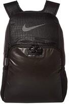 Nike Brasilia Backpack - Winterized (Black/Black/Reflective) Backpack Bags