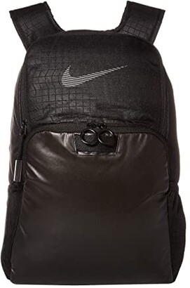 Nike Brasilia Backpack - Winterized (Black/Black/Reflective) Backpack Bags