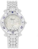 Chopard Happy Sport 27/8949 Snowflake Floating Diamonds Womens Watch