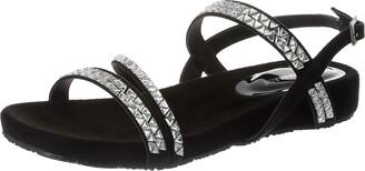 Maria Mare Women's 67778 Open Toe Sandals Black (Afelpado Negro C3931) 4.5 UK