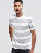 Jack and Jones Reverse Stripe T-Shirt