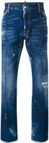 DSQUARED2 Richard jeans - men - Cotton/Polyester/Spandex/Elastane - 44