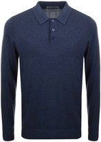 Original Penguin Supima Polo Jumper Blue