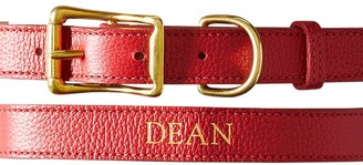 Mark And Graham Leather Dog Collar