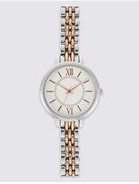 M&S Collection Round Face Bracelet Watch