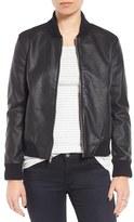 BB Dakota Alastair Faux Leather Bomber Jacket