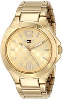 Tommy Hilfiger Women's 1781385 Gold-Tone Watch