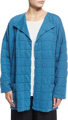 eskandar Tile-Design Jacket Cardigan, Inlet