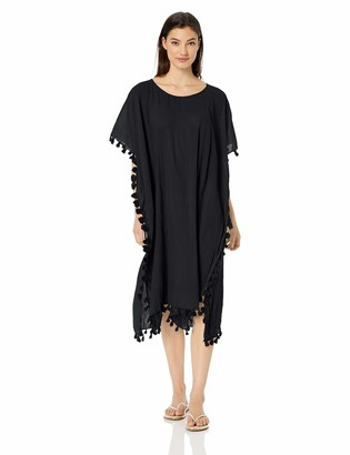 Seafolly Women's Midi Amnesia Kaftan Swimsuit Cover Up