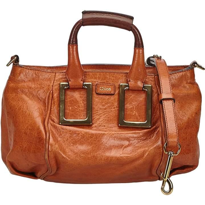 Chloé Ethel leather satchel