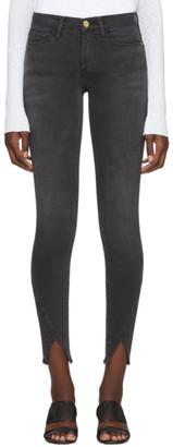 Frame Grey Le Skinny De Jeanne Jeans