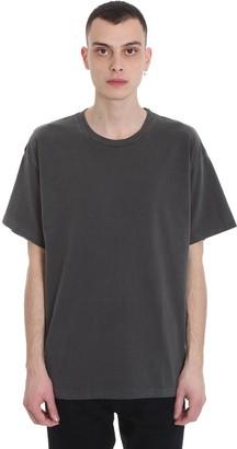 John Elliott University Tee T-shirt In Grey Cotton