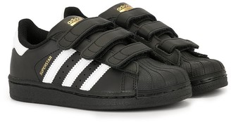 SuperStar adidas Kids touch strap sneakers