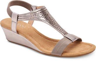 Alfani Women Step 'N Flex Vacanzaa Wedge Sandals, Women Shoes