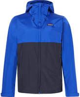 Patagonia Torrentshell Waterproof H2no Performance Standard Ripstop Hooded Jacket - Bright blue