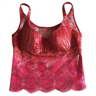 La Perla Red Lace Top for Women