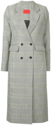 Strateas Carlucci Checked Coat