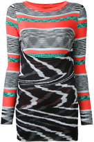 Missoni intarsia knit jumper - women - Cotton/Viscose - 40