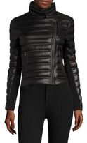 Mackage Quilted Lightweight Down Moto Jacket