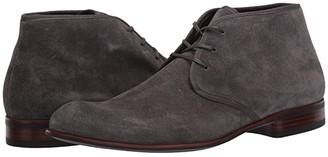 John Varvatos Seagher Chukka Boot (Coal) Men's Lace-up Boots