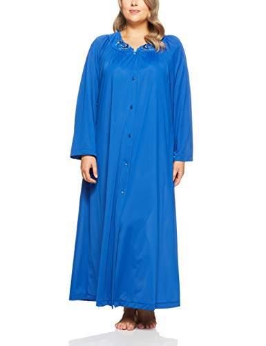 Shadowline Women's Plus-Size Petals 54 Inch Sleeve Long Coat