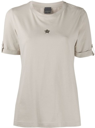 Lorena Antoniazzi Round Neck Star T-Shirt