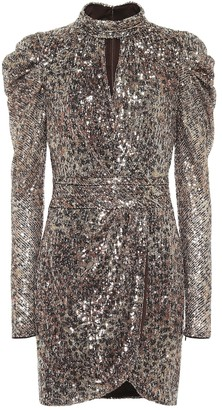 Jonathan Simkhai Mallory sequined minidress