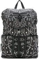 Marcelo Burlon County of Milan printed backpack - men - Nylon - One Size