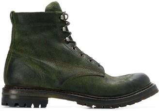 Silvano Sassetti lace up combat boots