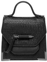 Mackage Rubie-G Anaconda Structured Leather Shoulder Bag In Black