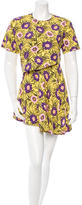 Marni Floral Print Asticon Dress