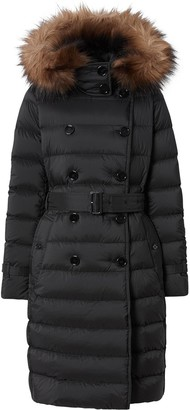 Burberry Detachable Hood Padded Coat