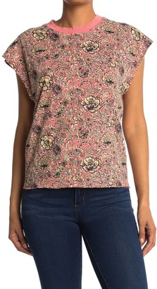 Free People Poppy Dreams Patterned T-Shirt