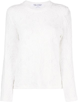 Comme des Garcons Knitted Long Sleeve Top