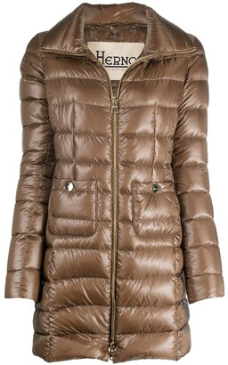 Herno Zip-Up Padded Coat