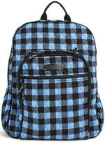 Vera Bradley Alpine Check Backpack
