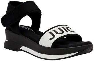 Juicy Couture Iresistable Logo Platform Sandal