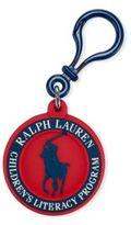 Ralph Lauren Global Literacy Bag Charm Red One Size