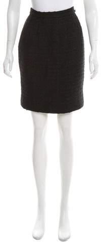 Chanel Paris-Dallas Tweed Skirt