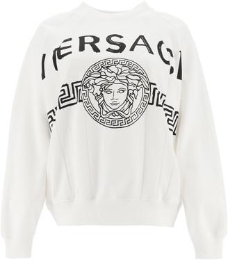 Versace Maxi Sweatshirt Medusa
