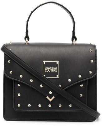Versace Jeans Couture Stud-Embellished Satchel