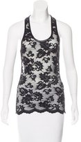 Robert Rodriguez Lace Sleeveless Top