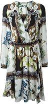 Etro paisley print peasant dress