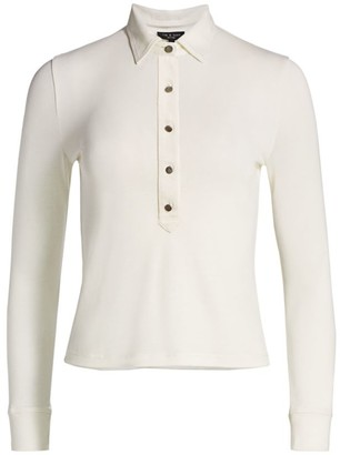 Rag & Bone Rower Polo Top