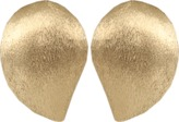Yvel Large Handmade 18K Yellow Gold Earrings