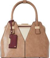 Dune Dorah frame detail handbag