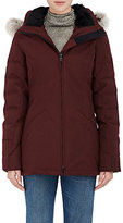 Canada Goose Women's Belmont Tech-Fabric Down Parka-BURGUNDY