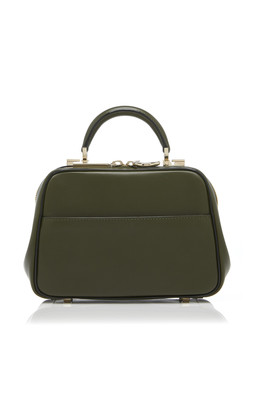 Valextra Serie S Mini Glossy Leather Bag