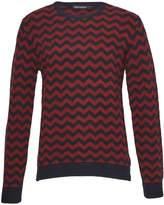 French Connection Men's Zig Zag Lambswool Crew Neck Jumper